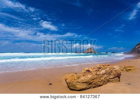 Atlantic Ocean Beach, Portugal