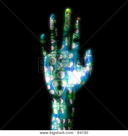 Elektrische Hände