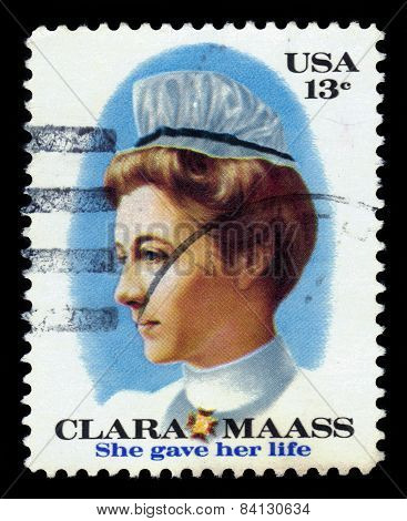 Clara Louise Maass, American Nurse