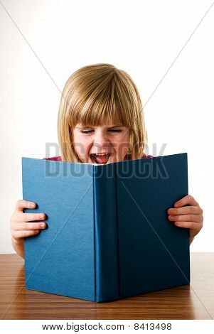 shout at book