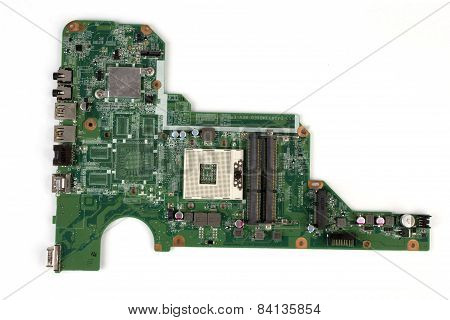 Notebook Pc Motherboard From Top