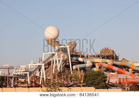 Yas Waterworld Park In Abu Dhabi