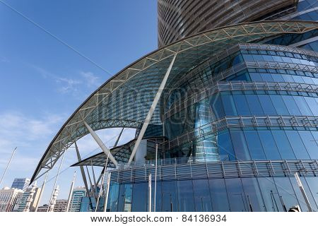 Landmark Skyscraper In Abu Dhabi