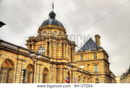 Palais Du Luxembourg - Senate Of France - Paris