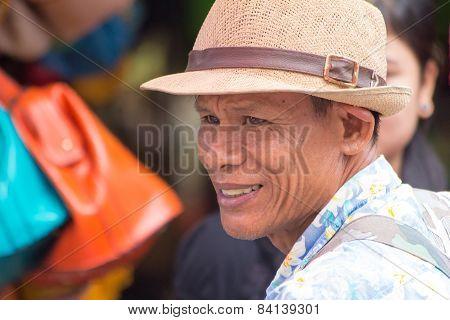 Street Vendor Portrait