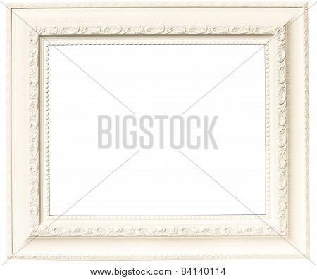 White Plastic Frame