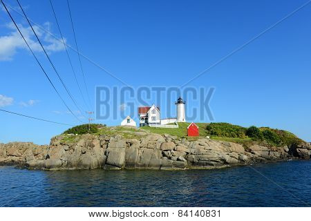 Cape Neddick Lighthouse, Old York Village, Maine
