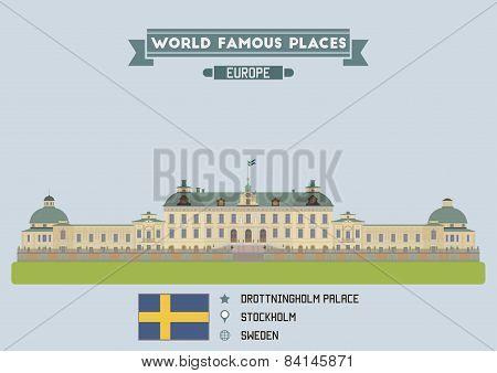 Drottningholm Palace. Stockholm