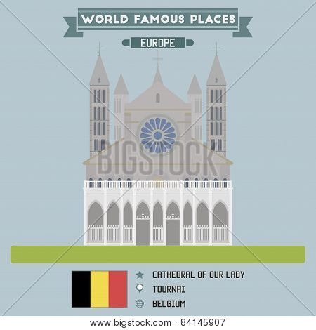 Cathedral Of Our Lady. Tournai