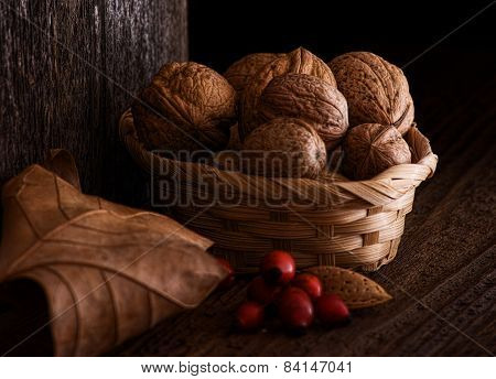 Still Life with Walnut