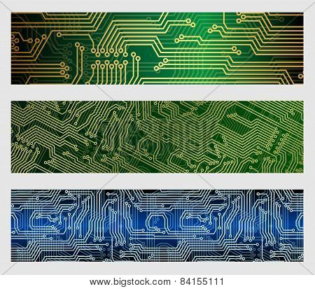 Circuit Board Web Banners