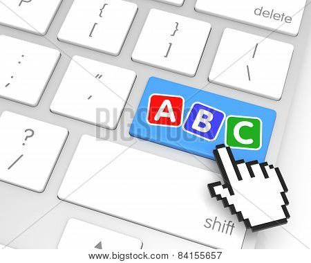 Abc Enter Key