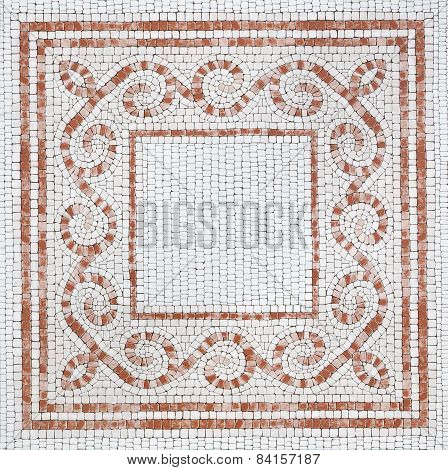 Decorative Brown Marble-stone Mosaic Background