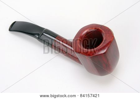 Smoking Pipe On A White Background