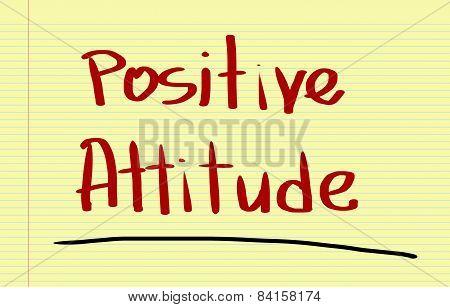 Positive Attitude Concept