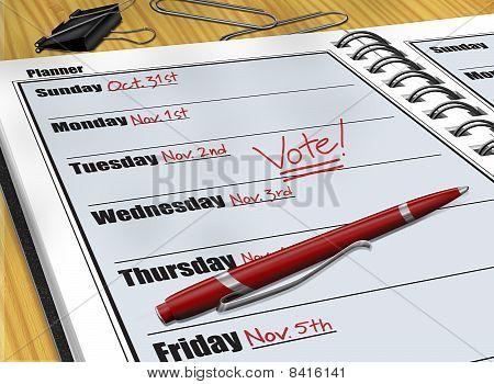 Voting Reminder