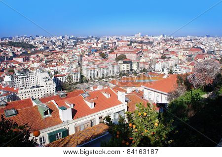 Lisbon spring skyline, Portugal