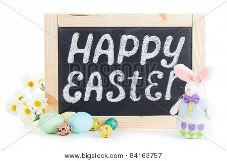 Happy Easter Chalkboard
