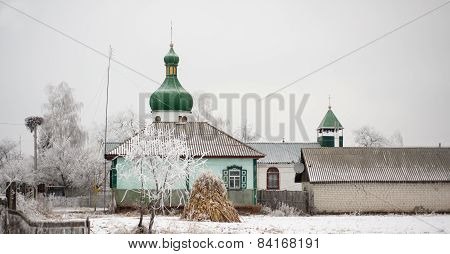 The Old Orthodox Church In The Village