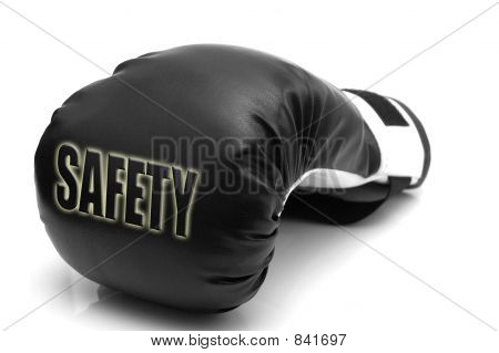 Safety - a boxing glove