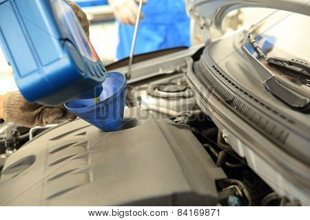 add car engine oil