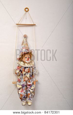 Clown Doll And Swing