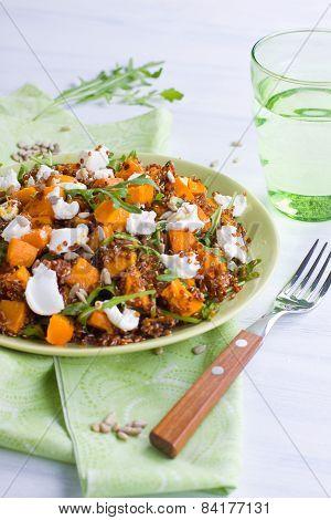 Plate Of Quinoa Salad