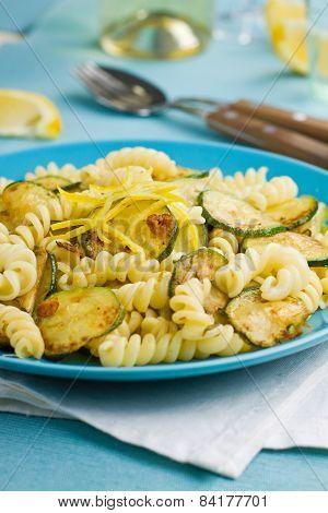 Lemon And Zucchini Pasta