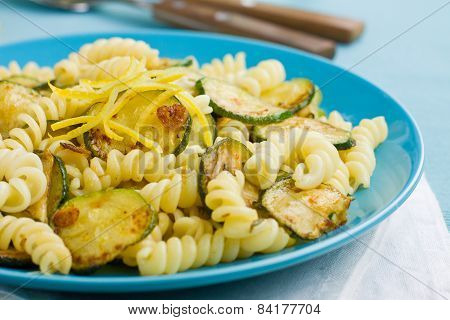 Pasta With Courgette