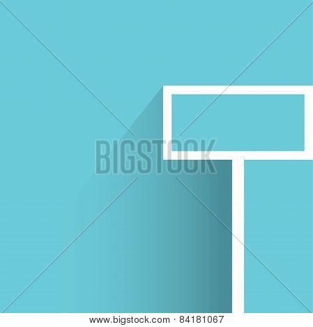 blank signage