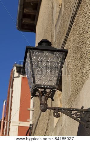 Streetlamp In Plentzia, Bizkaia, Basque Country, Spain