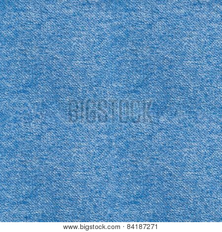 A square blue mohair background or texture