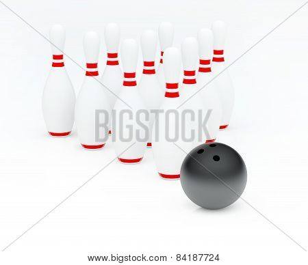 Bowling (3D Render)