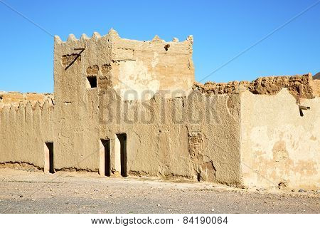 Hill Africa In Morocco The Old Contruction        Village Brick