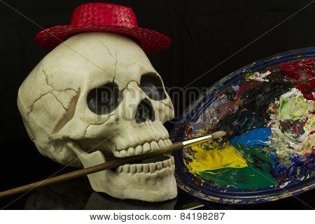 Artist Skull