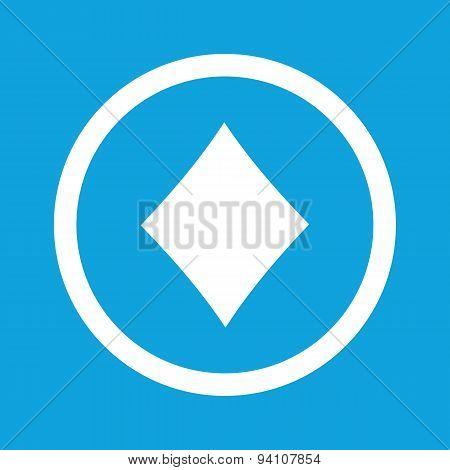 Diamonds sign icon