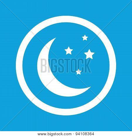 Night sign icon