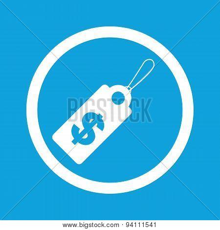 Dollar price sign icon
