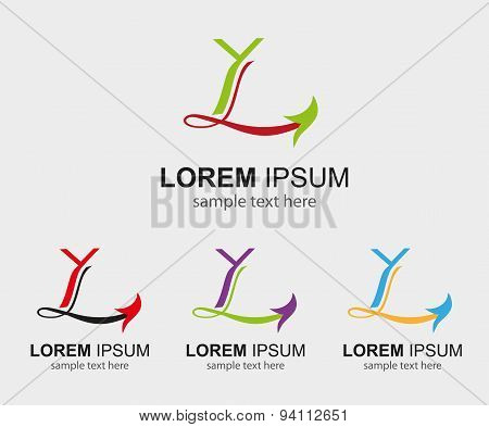 Letter L logo vector icons such logos