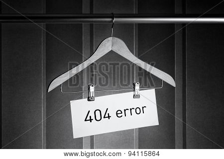 Wooden Hanger With Tag