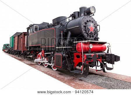 Vintage,big, Steam Train