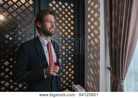 Handsome smiling gentleman