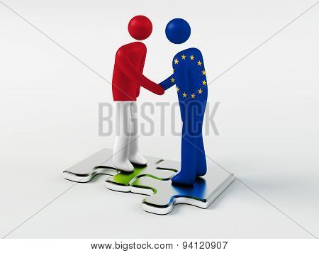 Business Partners Monaco and European Union