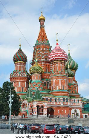 Moscow - August 2010 - The Cathedral Of The Protectress (sobor Vasiliya Blazhennogo)