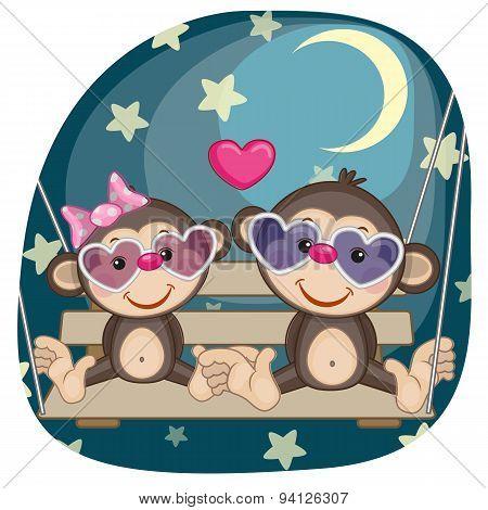 Lovers Monkeys