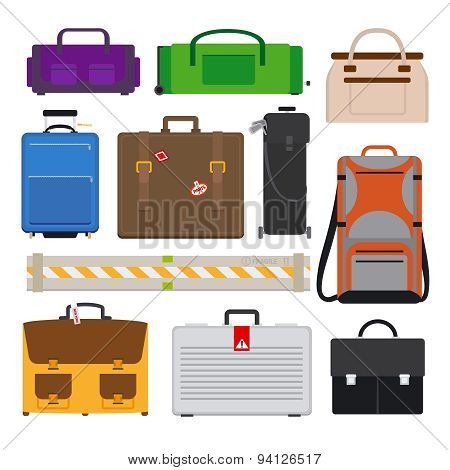 Traveling Luggage icons