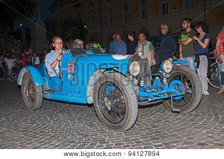 Bugatti  T 37  (1926) In Mille Miglia 2015