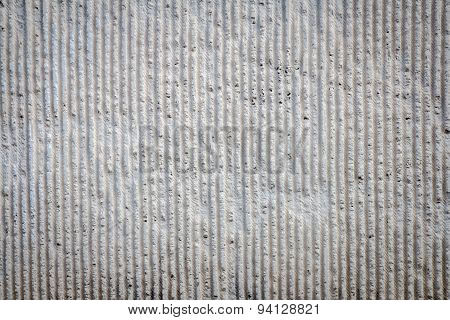 Concrete Wall With Deformed Bar Texture