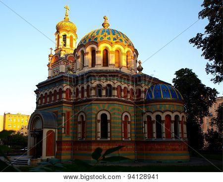 Basilica Orthodox Alexander Nevsky Cathedral