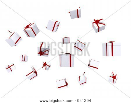 Gifts Falling Down